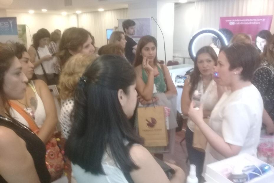Glaps presente en expo lanzamientos